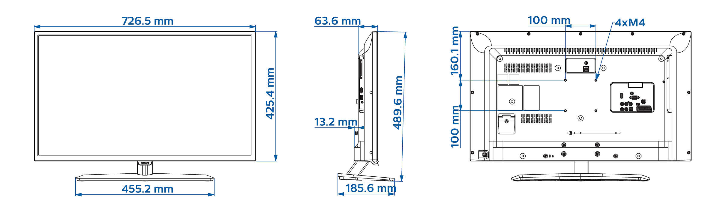 Professional Led Tv 32hfl3010t 12 Philips Audio Visual Nurse Call Schematic And Wiring Diagram For Installation Incredible Functionality Your Guests