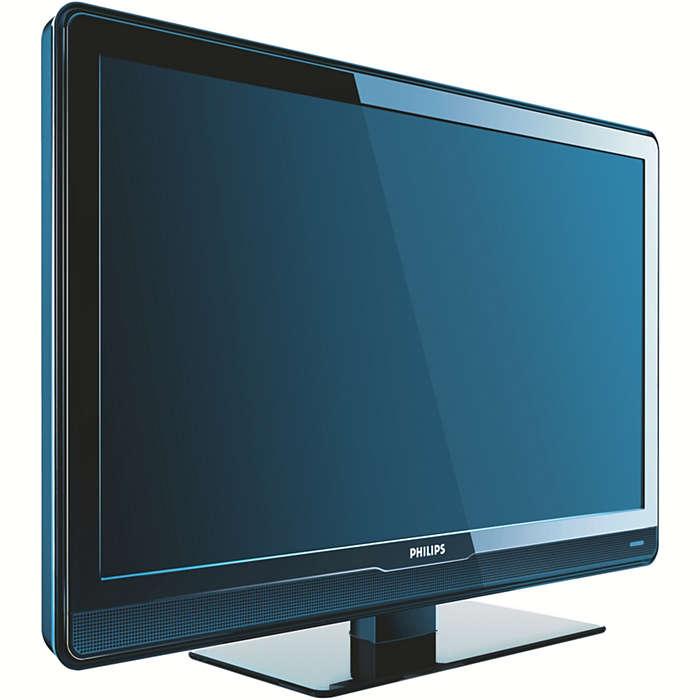 Un téléviseur commercial abordable