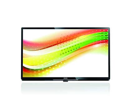 Il TV ideale per un utilizzo a valore aggiunto o interattivo