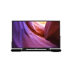32PFH4100/88  Smukły telewizor LED Full HD