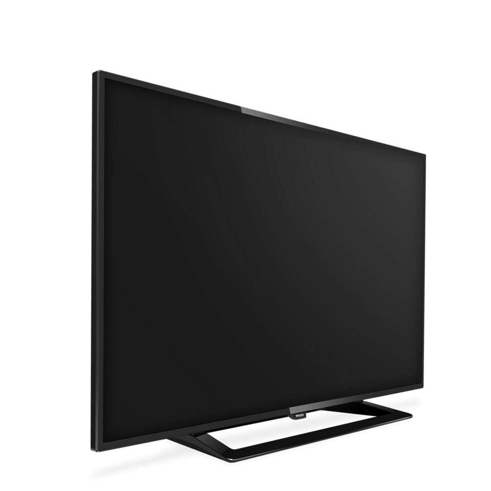 Flacher Full HD LED Fernseher