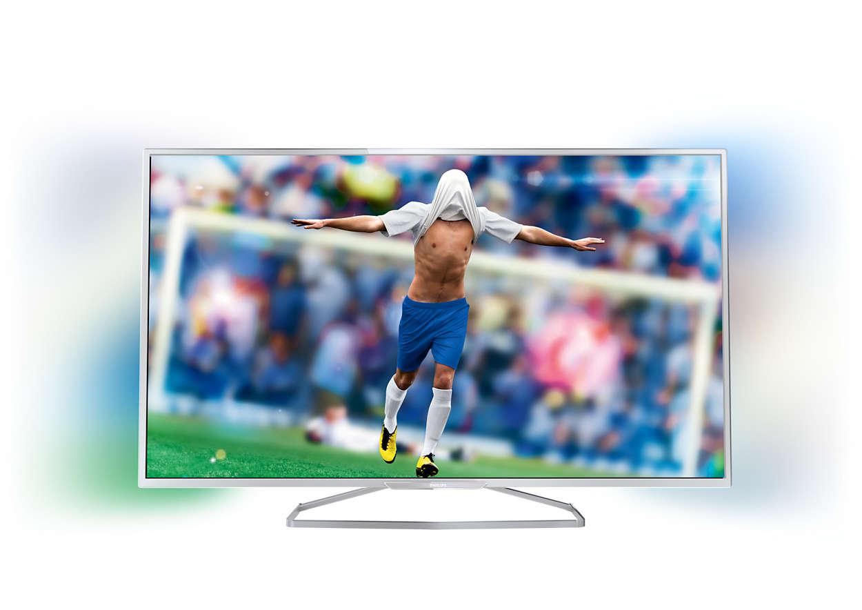 Тънък Smart Full HD LED телевизор