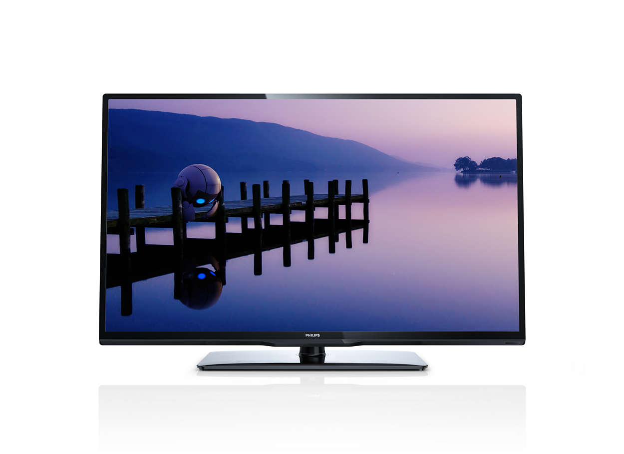 tv led fina full hd 32pfl3018d 78 philips. Black Bedroom Furniture Sets. Home Design Ideas