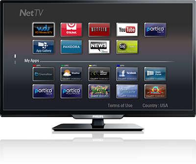 how to get american netflix on philips smart tv
