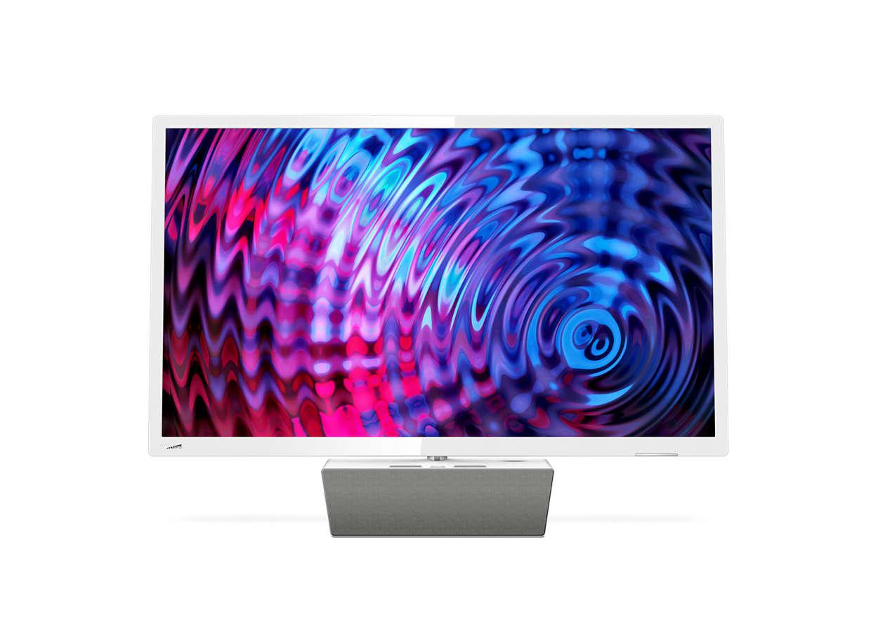 Ултратънък Full HD LED смарт телевизор
