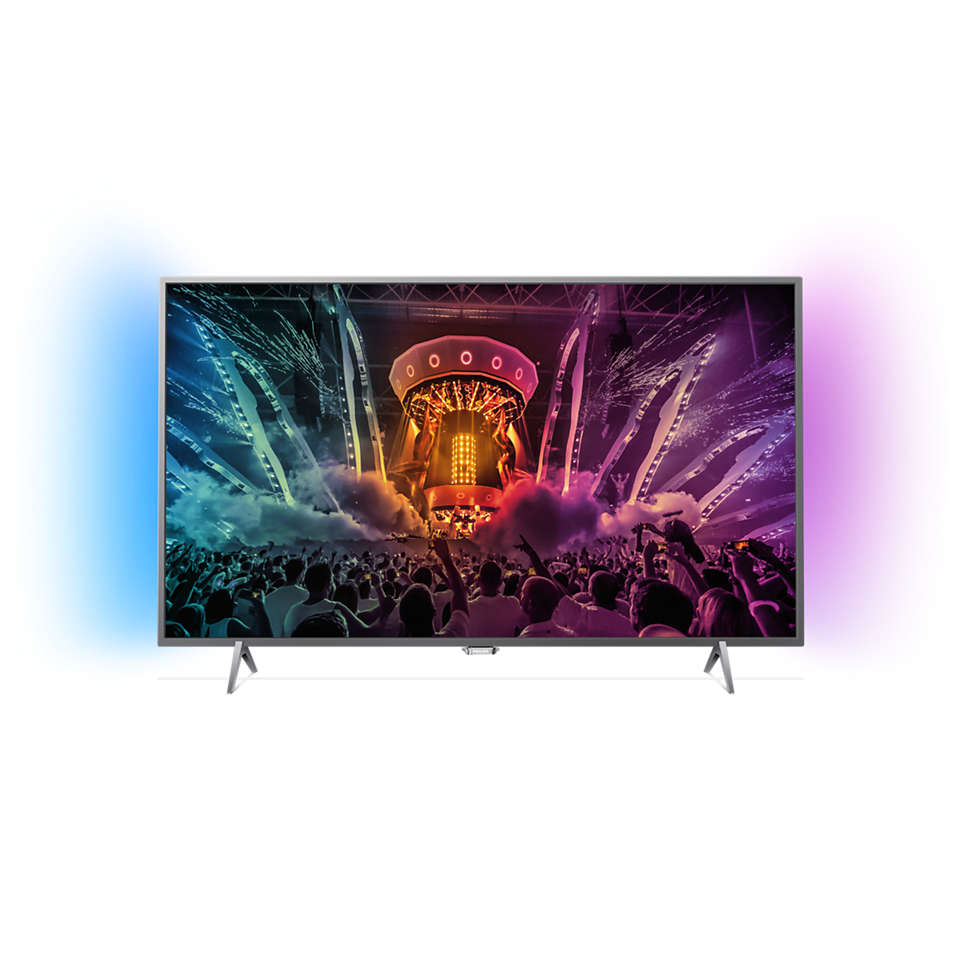 6000 series Ultraflacher Full-HD-Fernseher powered by Android™