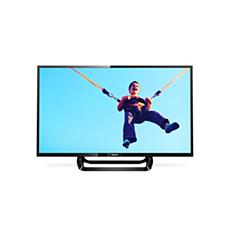 "32PFT5362/12  Itin plonas ""Full HD"" LED televizorius"