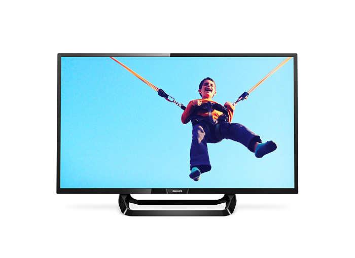 Ultratunn smart LED-TV med Full HD
