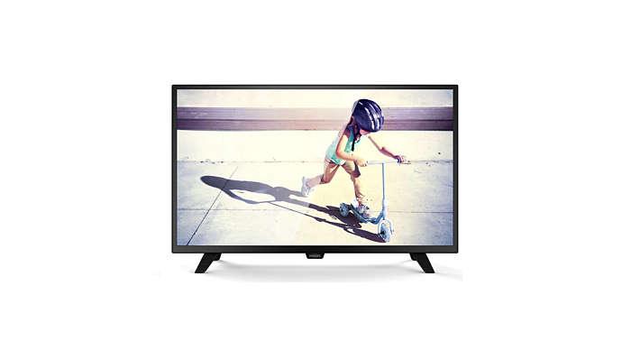 Slim LED TV