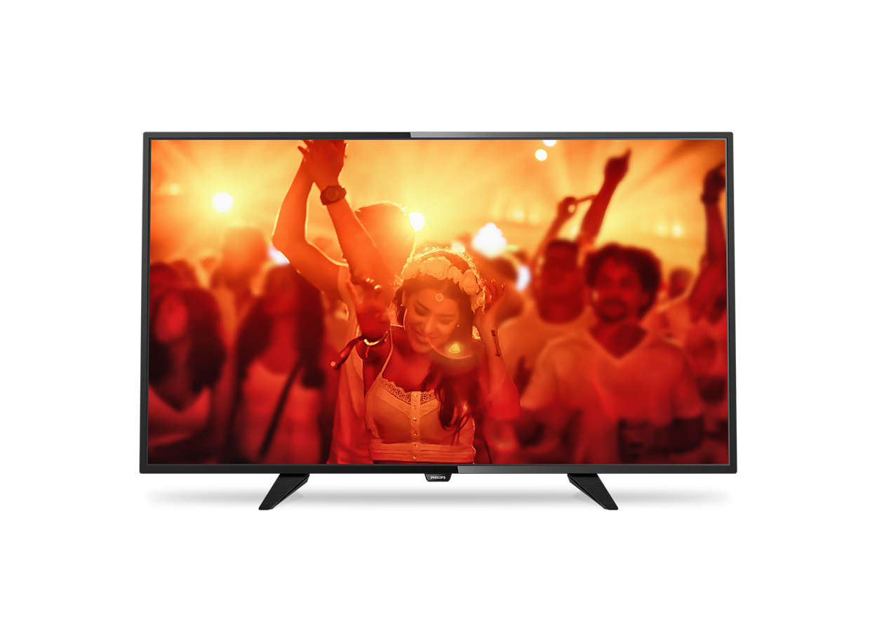 TV LED ultra sottile