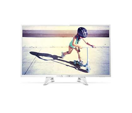 Ultraflacher LED-Fernseher