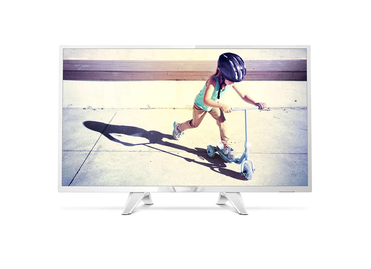 Tunn LED-TV