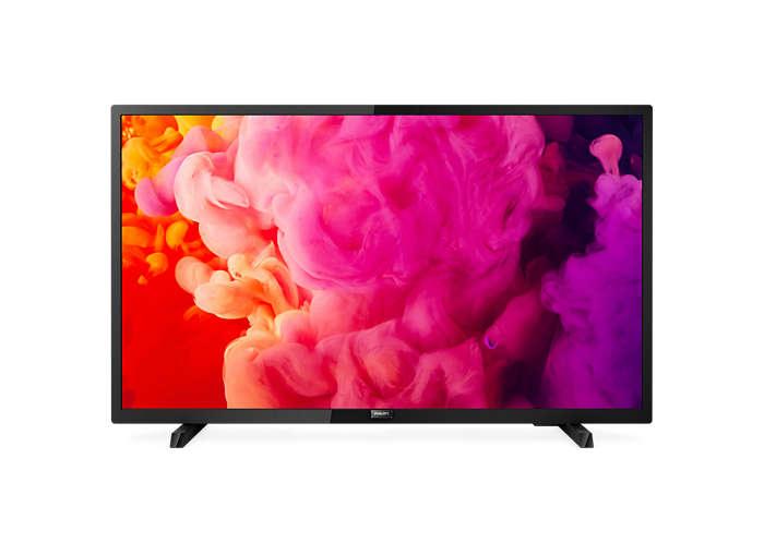 Téléviseur LED ultra-plat