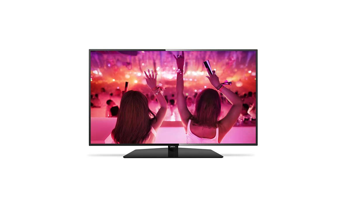 Televisor LED ultra fino