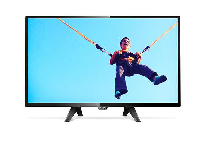 Smukły telewizor LED Smart HD
