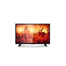 32PHT4001/12  Ultraslankt LED-TV