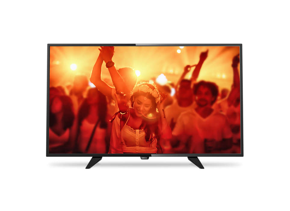 Svært slank LED-TV