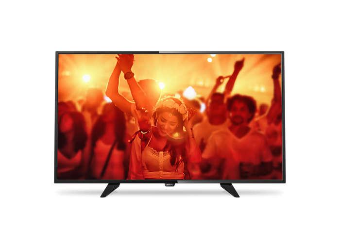 Ultratunn LED-TV