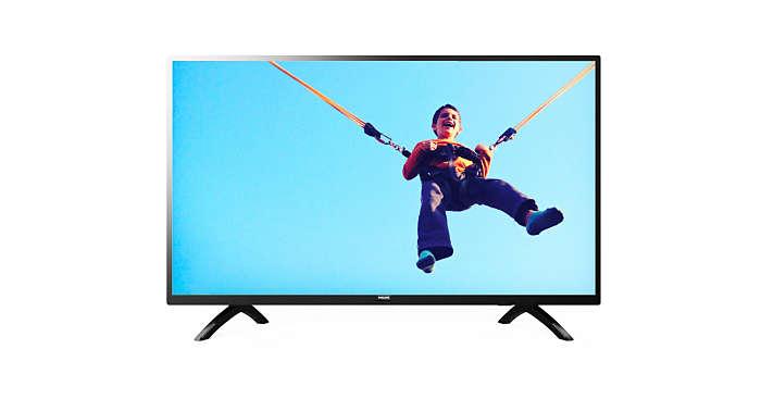 Smart TV màn hình LED siêu mỏng