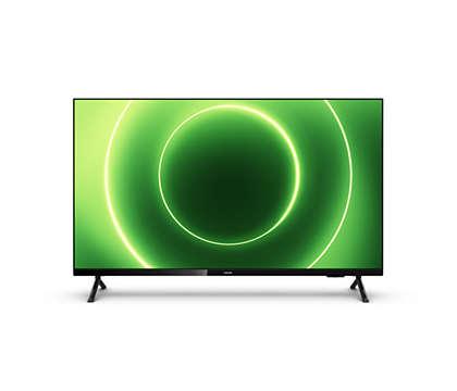 تلفزيون LED ذكي بنظام Android