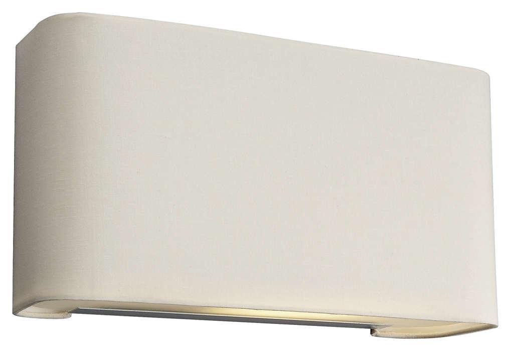 Basal 1-light Wall in Beige finish