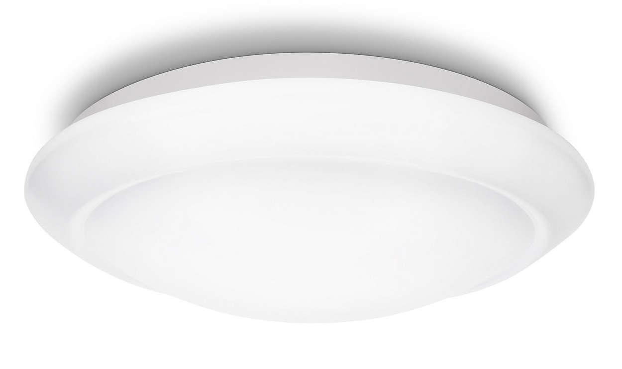 Plafoniera Led Soffitto Rotonda : Lampada da soffitto 333623116 philips