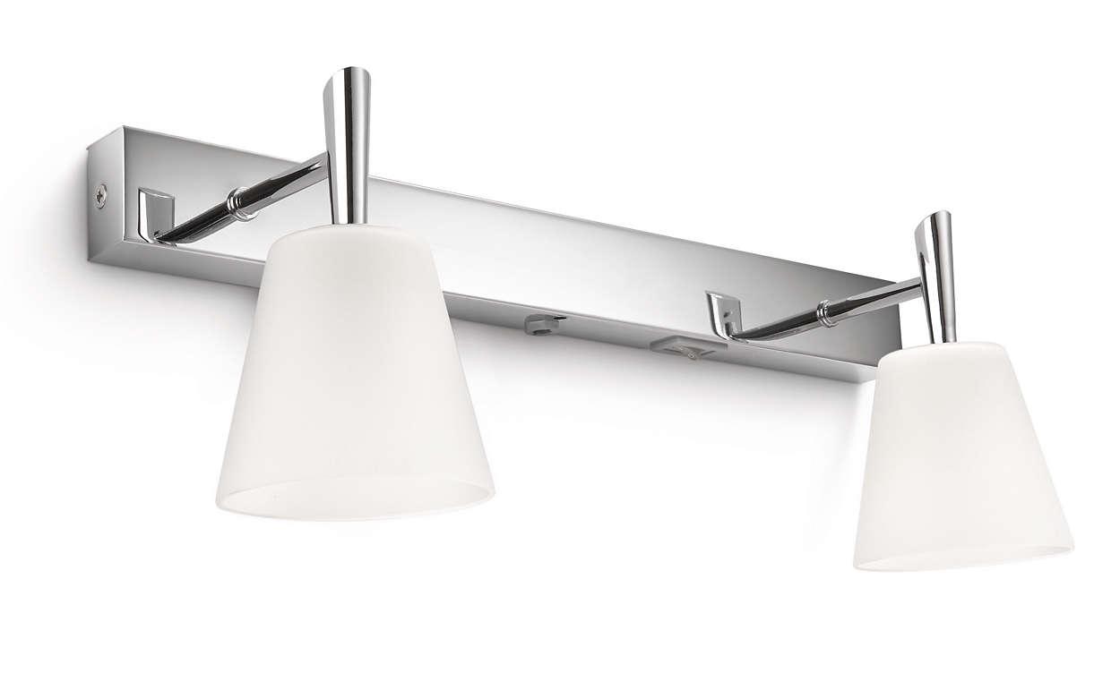 Luminaire Cuisine Avec Interrupteur : Mybathroom applique murale 340821116 philips