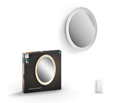 Hue White Ambiance Adore Bathroom Lighted Mirror 3435731p7