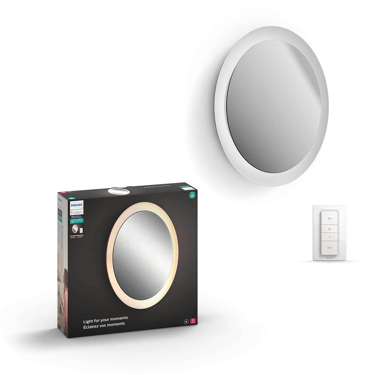 Hue White Ambiance Adore Lighted Vanity Mirror 3435831u7