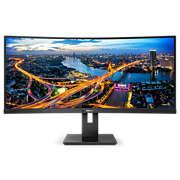 Zakrzywiony monitor LCD UltraWide ze złączem USB-C