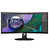 Brilliance Curved UltraWide display with USB-C dock