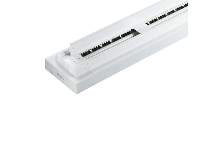 Distribución de luz directa / indirecta simplemente retirando el recuperador de flujo