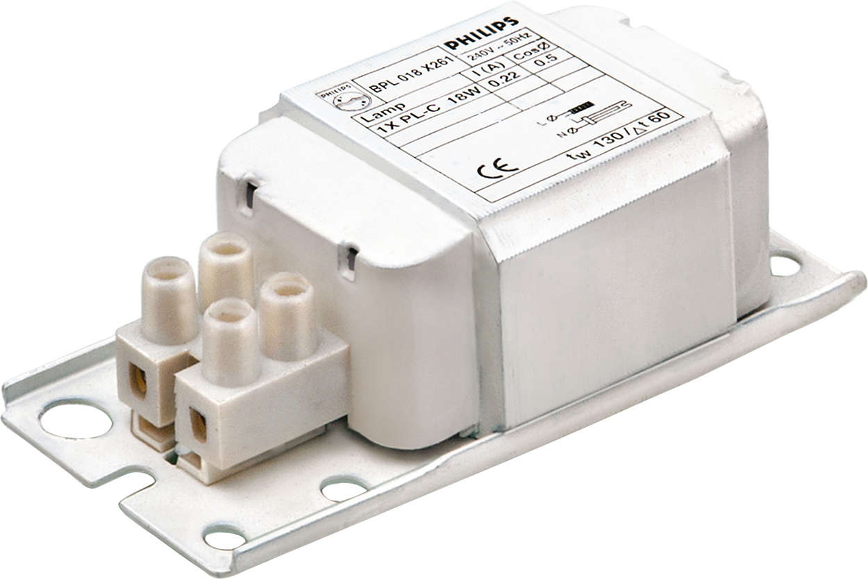 BPL EM ballasts for CFL, PLT, PLS and PLC lamps
