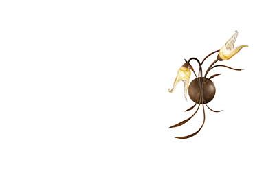 LYRIS brown Wall light