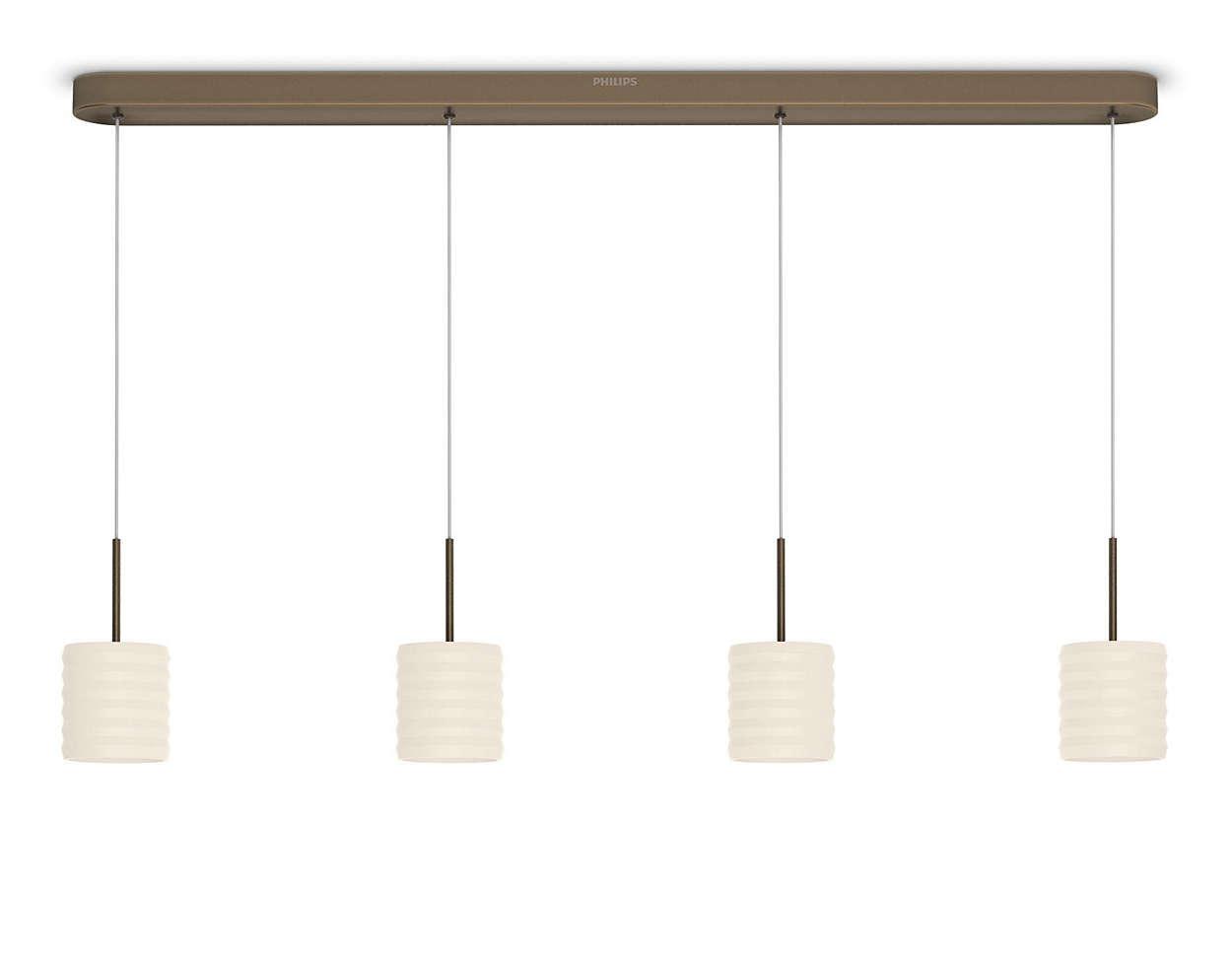 pendelleuchte 373070616 philips. Black Bedroom Furniture Sets. Home Design Ideas
