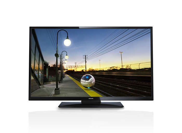 LED Hotel-TV in modernem Design