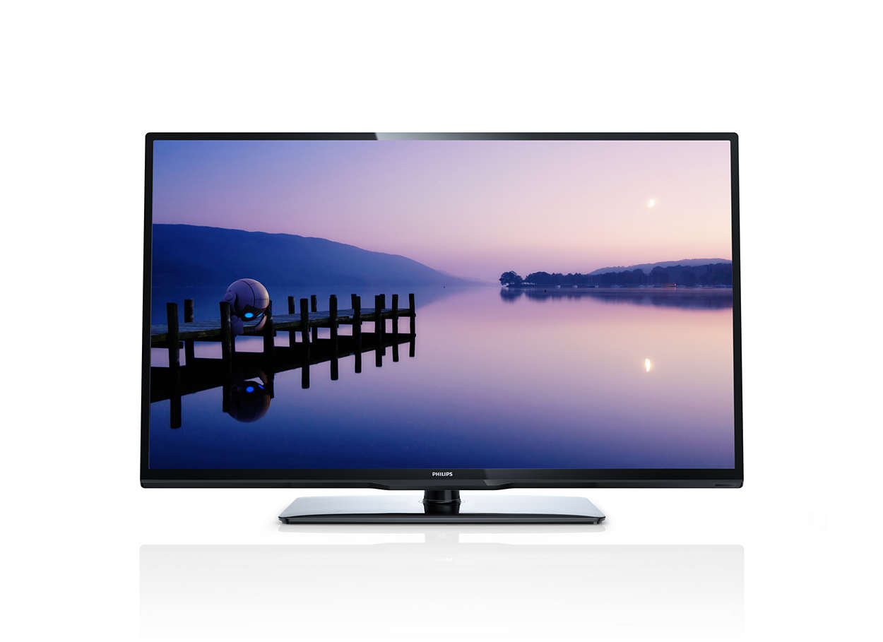 flacher full hd led fernseher 39pfl3108k 12 philips. Black Bedroom Furniture Sets. Home Design Ideas