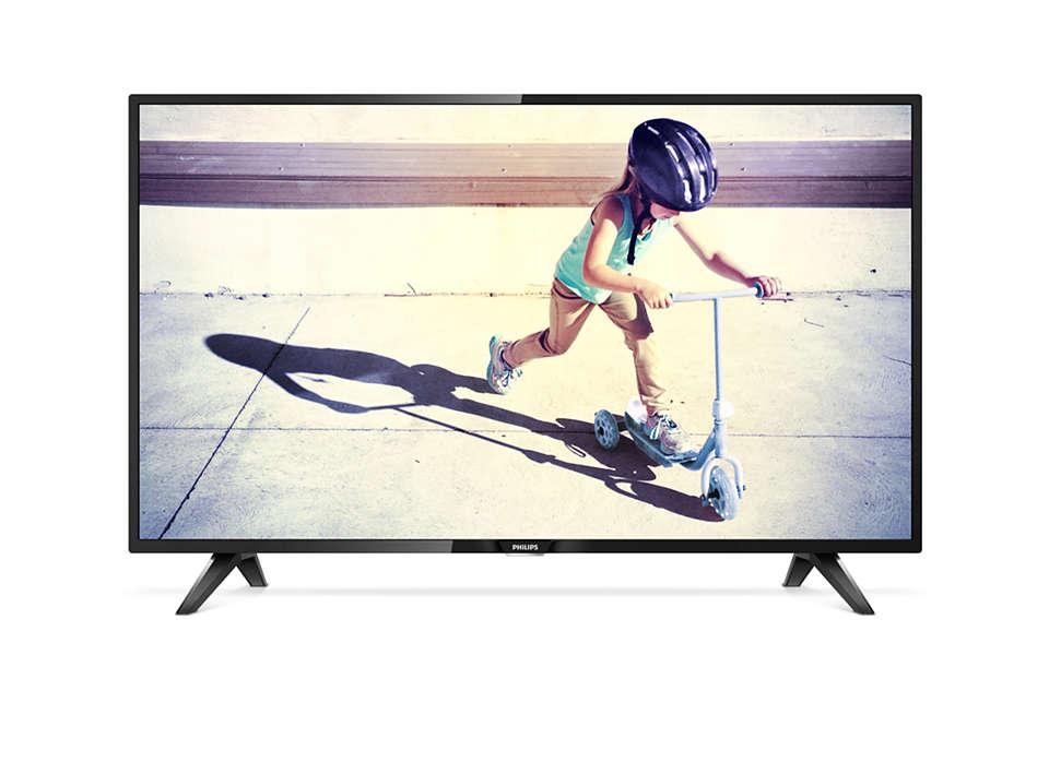 Ultraslanke LED-TV