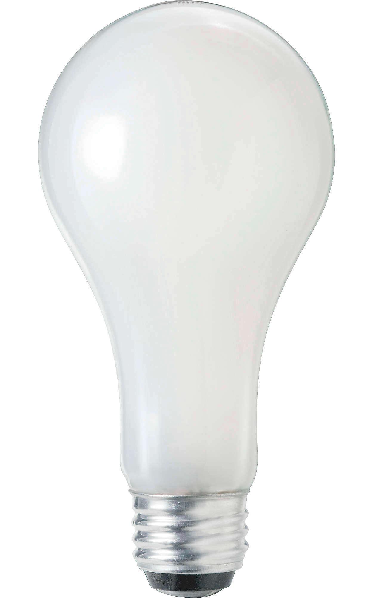 Ampoules avec revêtement de silicone à construction renforcée