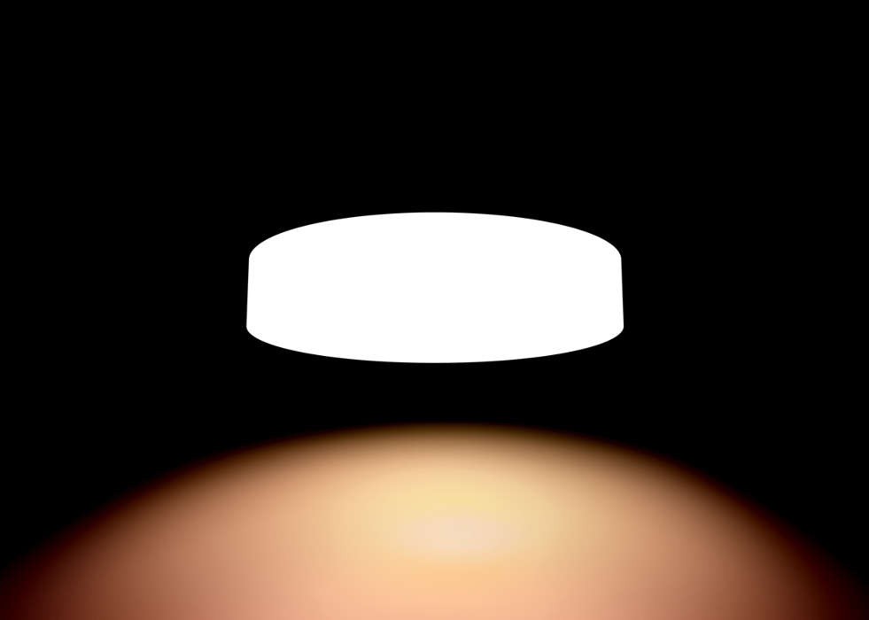 Plafoniera A Led Beign Philips Hue : Hue white ambiance fair ceiling light 4034031p7 philips