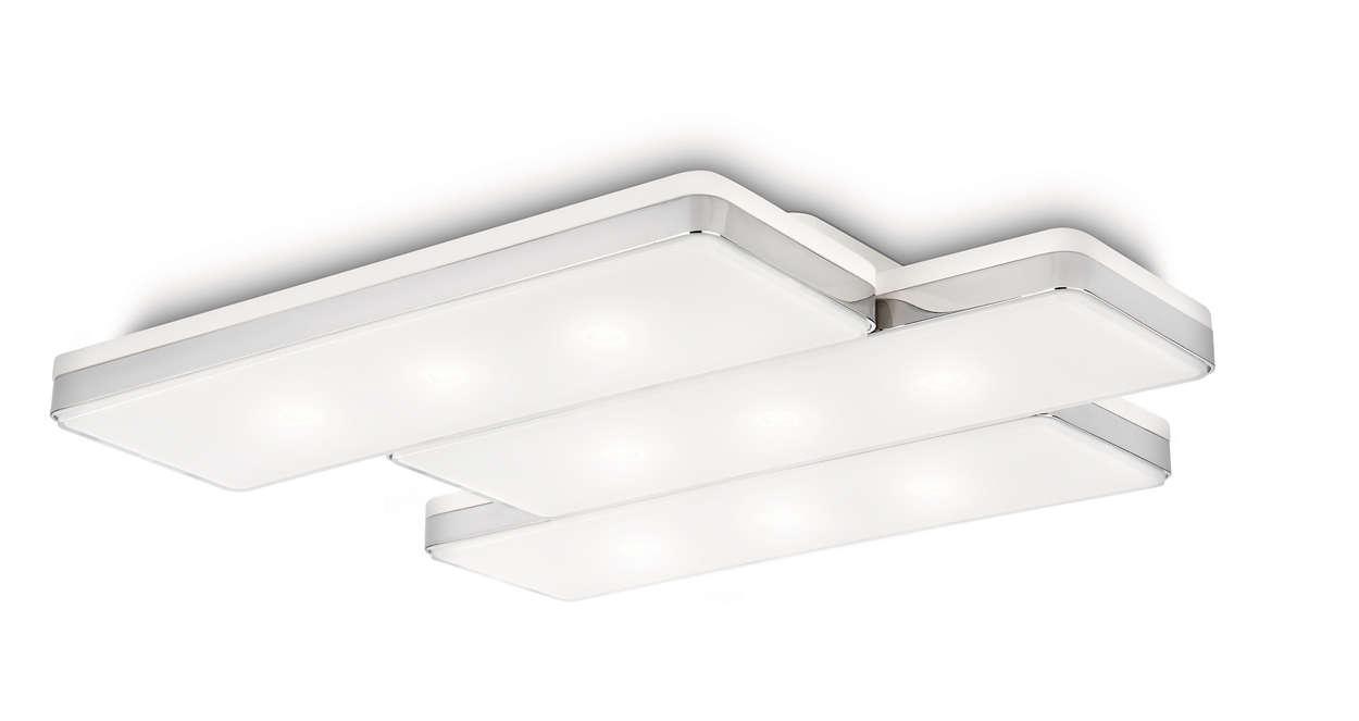 Ledino Panel ceiling light