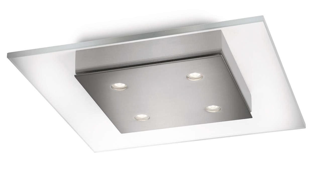 Inred hemmet med ljus