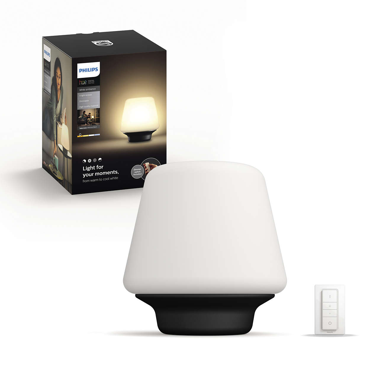 Hue White Ambiance Wellness Table Lamp 4080130p7 Philips