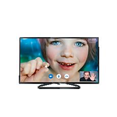 40PFK6409/12  Flacher Smart Full HD-LED-Fernseher
