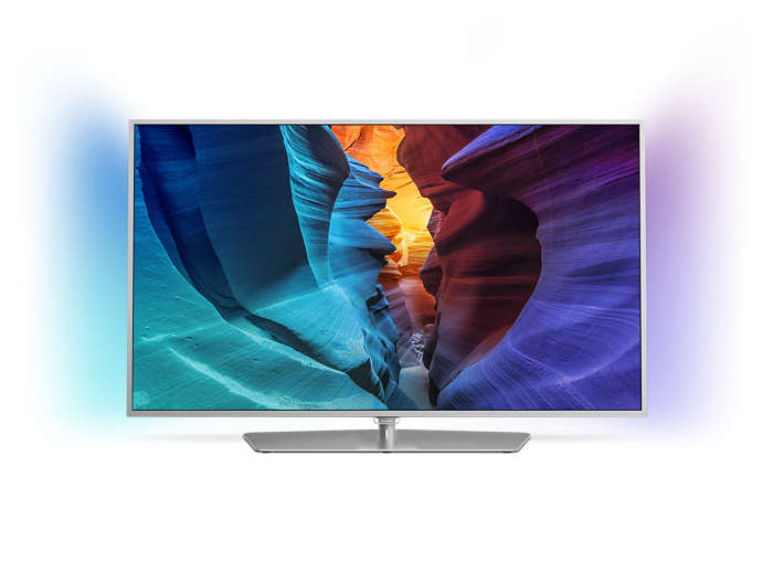 Flacher Full HD-LED-Fernseher powered by Android