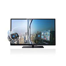 40PFL4418H/12 -    Ultraflacher 3D Smart LED-Fernseher