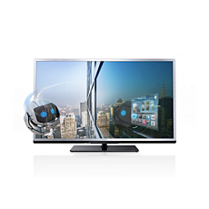 40PFL4528K/12  Ultraflacher 3D Smart LED-Fernseher