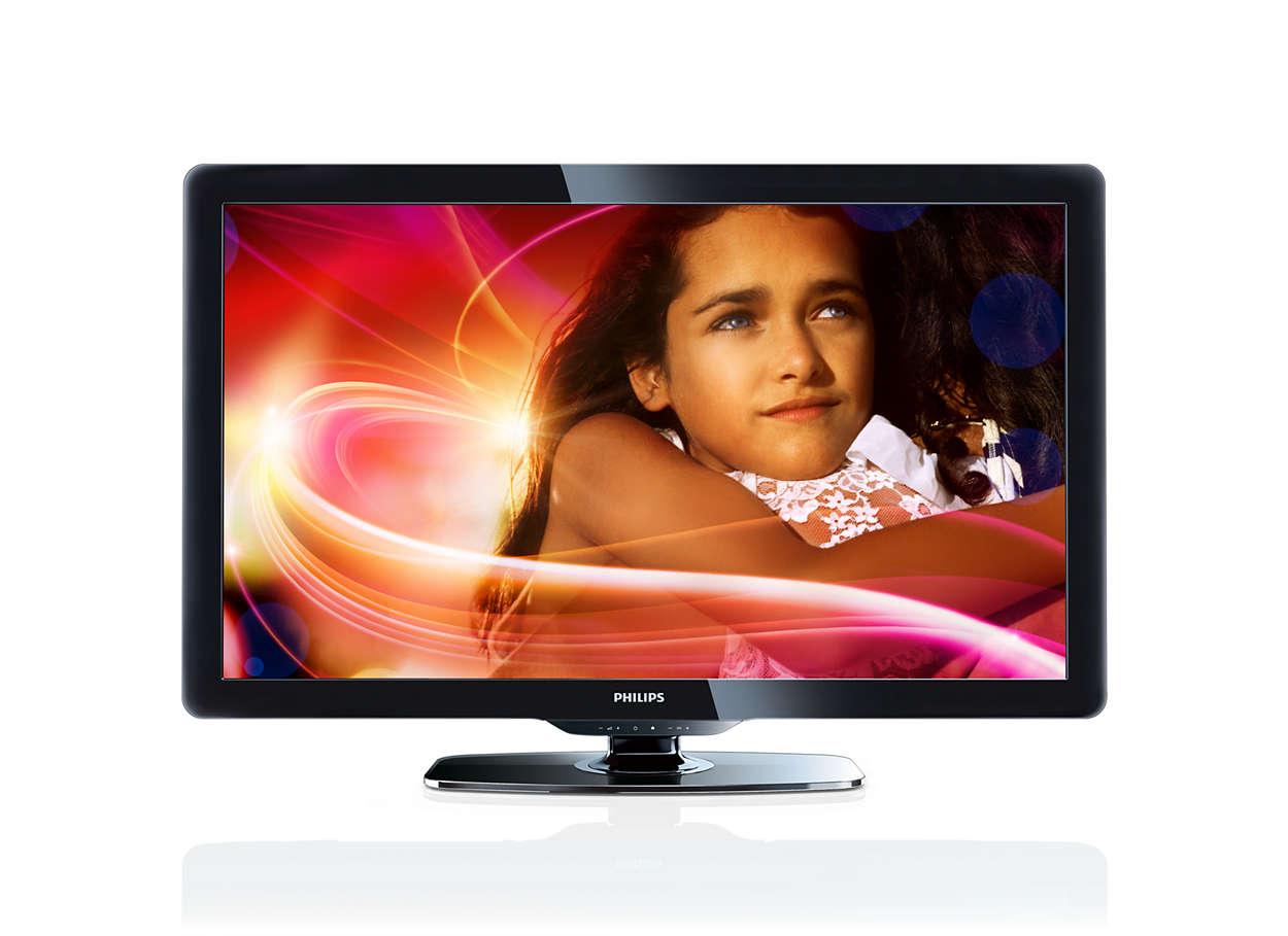 tv lcd 40pfl4606d 78 philips. Black Bedroom Furniture Sets. Home Design Ideas