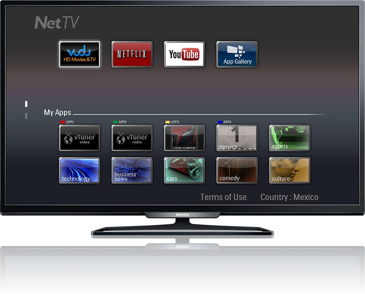 televisor led lcd serie 4000 40pfl4909 f8 philips. Black Bedroom Furniture Sets. Home Design Ideas