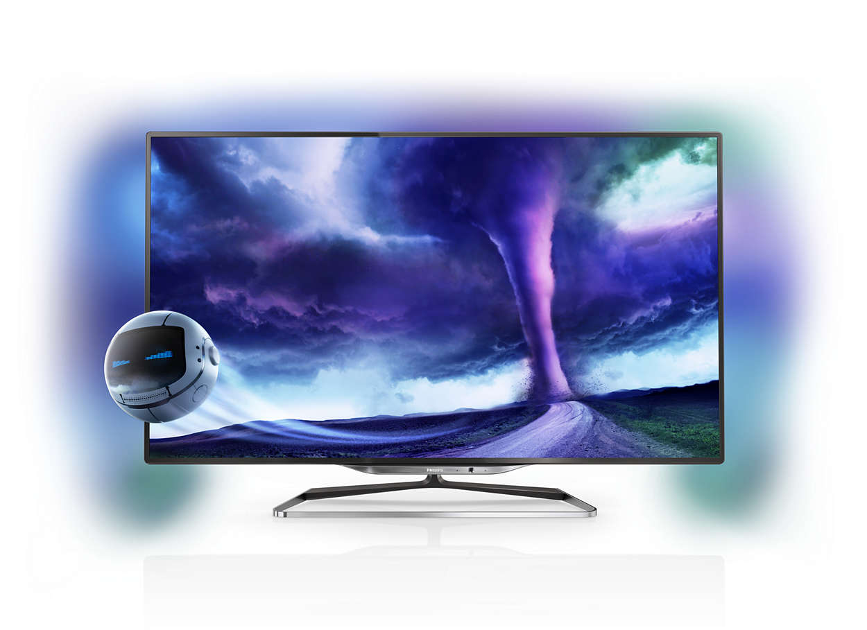 Ultraflacher Smart LED-Fernseher 40PFL8008S/12 | Philips